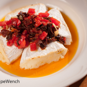 Brie Cheese & Sun Dried Tomatoes