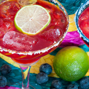 Blueberry Margaritas - My New Best Friend