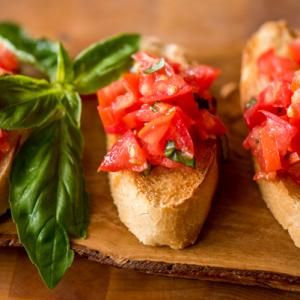 Bruschetta - Simple and Fresh