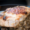 Herb Stuffed Pork Chops