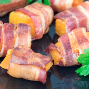 Bacon and Butternut Squash Appetizer