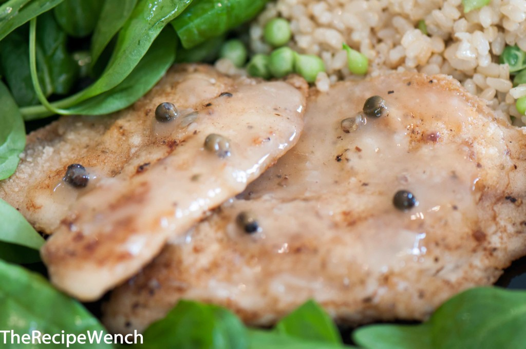 Pan Fried Tilapia with Green Peppercorns - The Recipe Wench