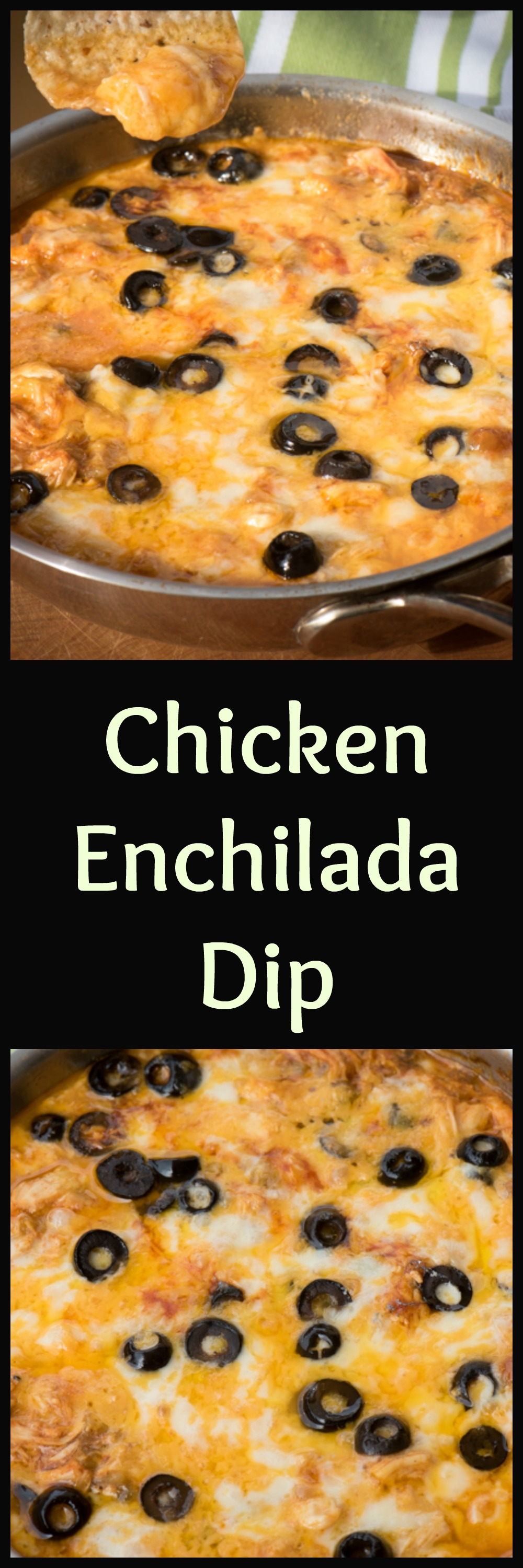Make chicken enchilada dip ahead of time and pop in hot oven and heat ...
