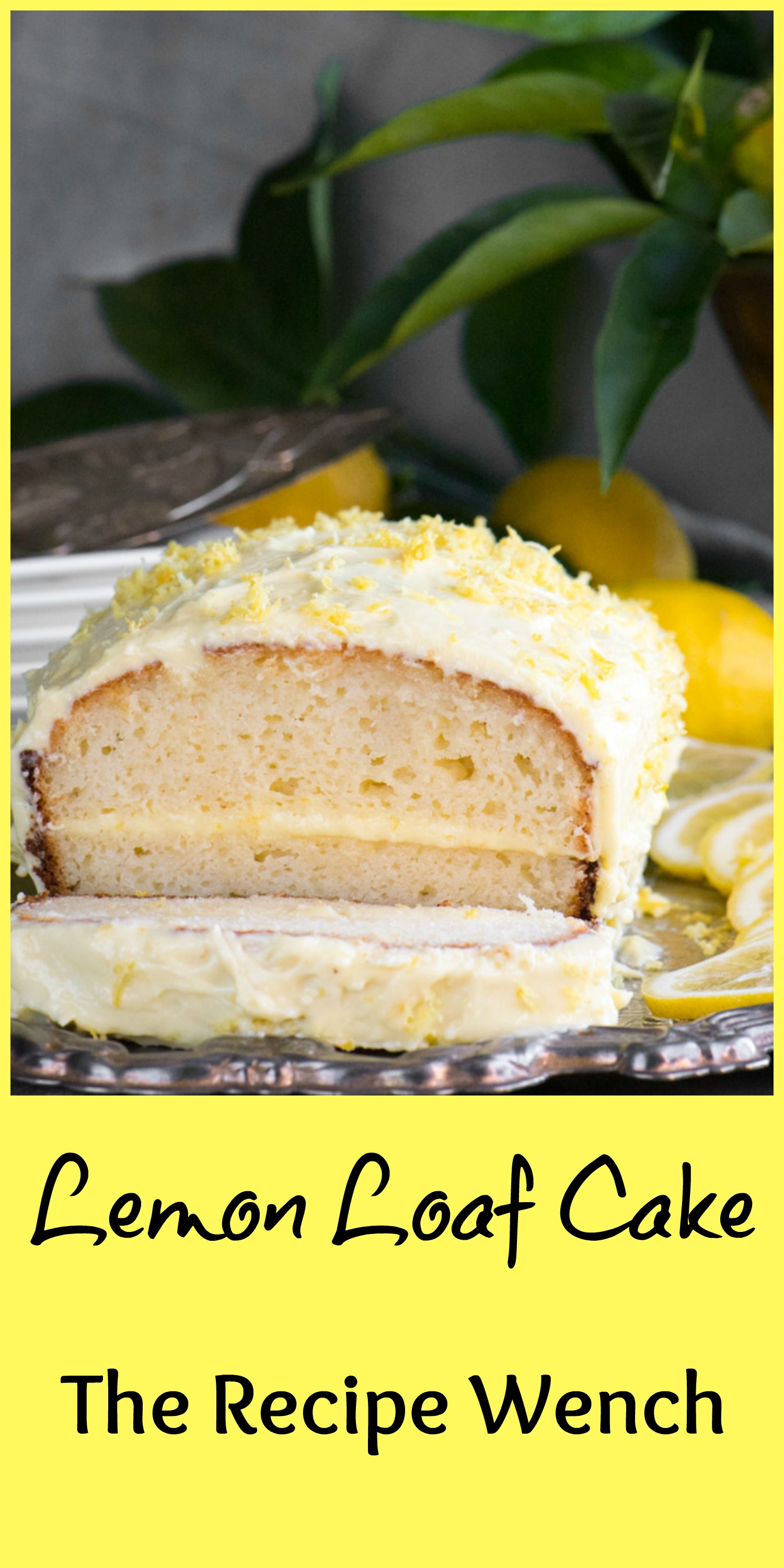 Lemon Curd Loaf Cake Recipe