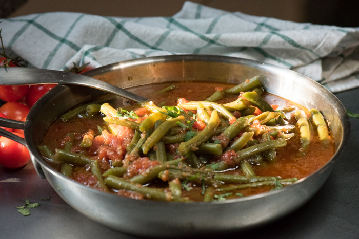 how to cook canned green beans on stove top