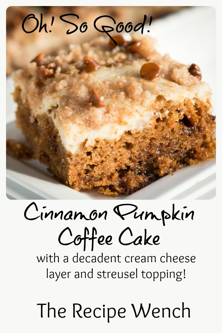 Best Pumpkin Coffee Cake Recipe